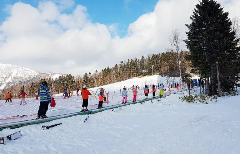 tomamu ski lesson